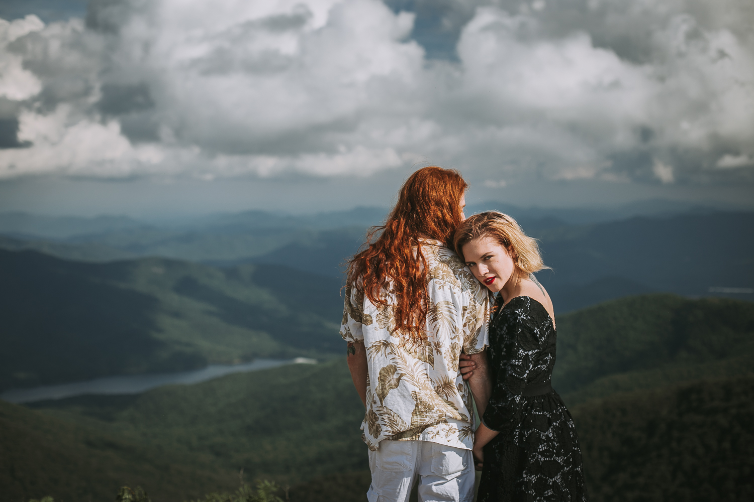 Ivy + Martin 2 | Asheville Engagement Photographers // Love Is Wild Photography