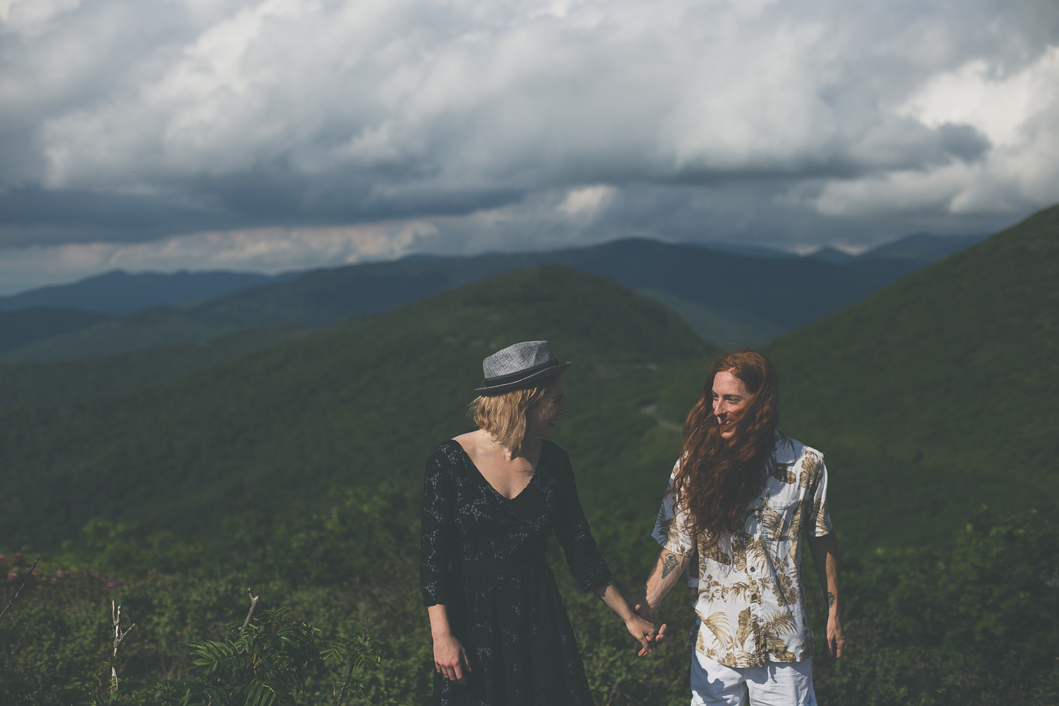 Ivy + Martin 9 | Asheville Engagement Photographers // Love Is Wild Photography