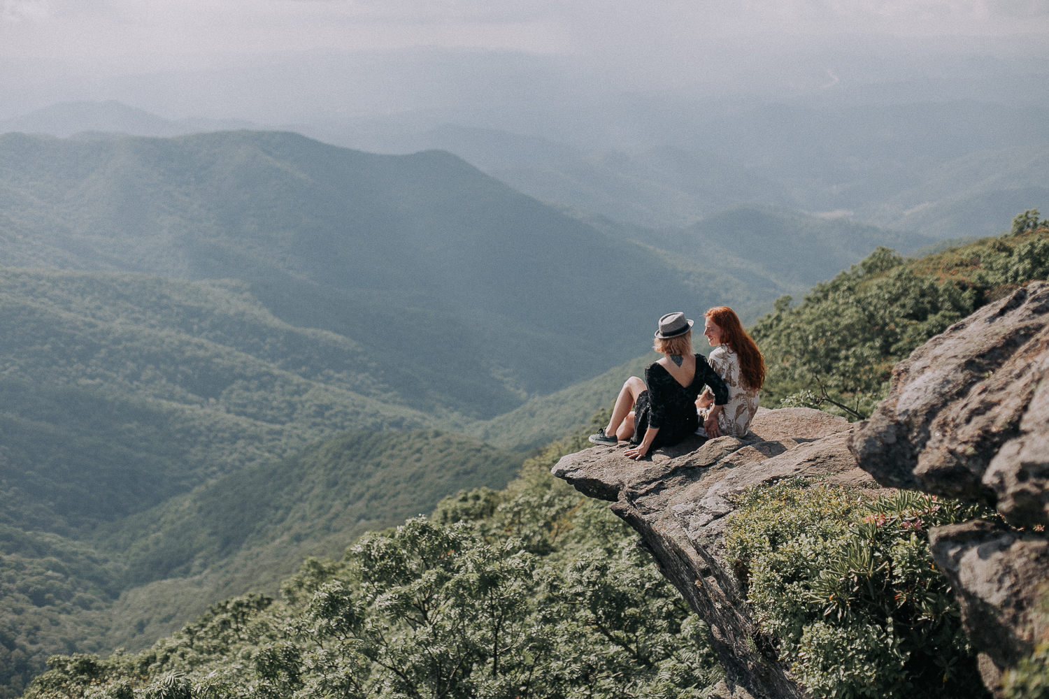 Ivy + Martin 11 | Asheville Engagement Photographers // Love Is Wild Photography