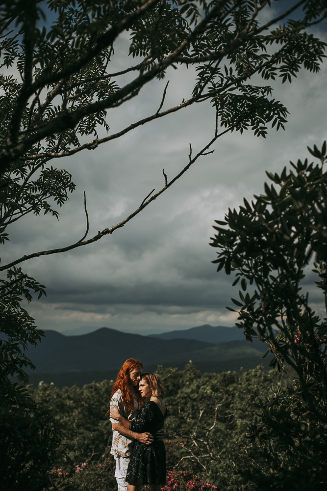 Ivy + Martin 14 | Asheville Engagement Photographers // Love Is Wild Photography
