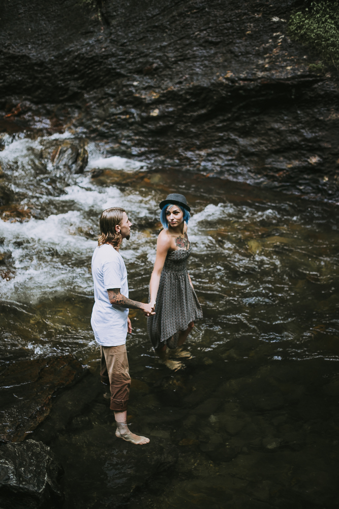 Stephanie + Anthony 31 | Asheville Wedding Photographers // Love Is Wild Photography
