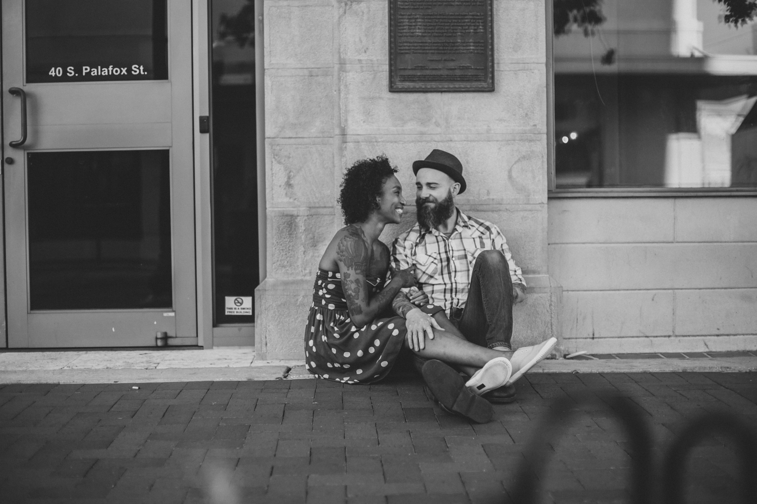 Lo + KC 17 | Downtown Pensacola Engagement Photographers // Love Is Wild Photography