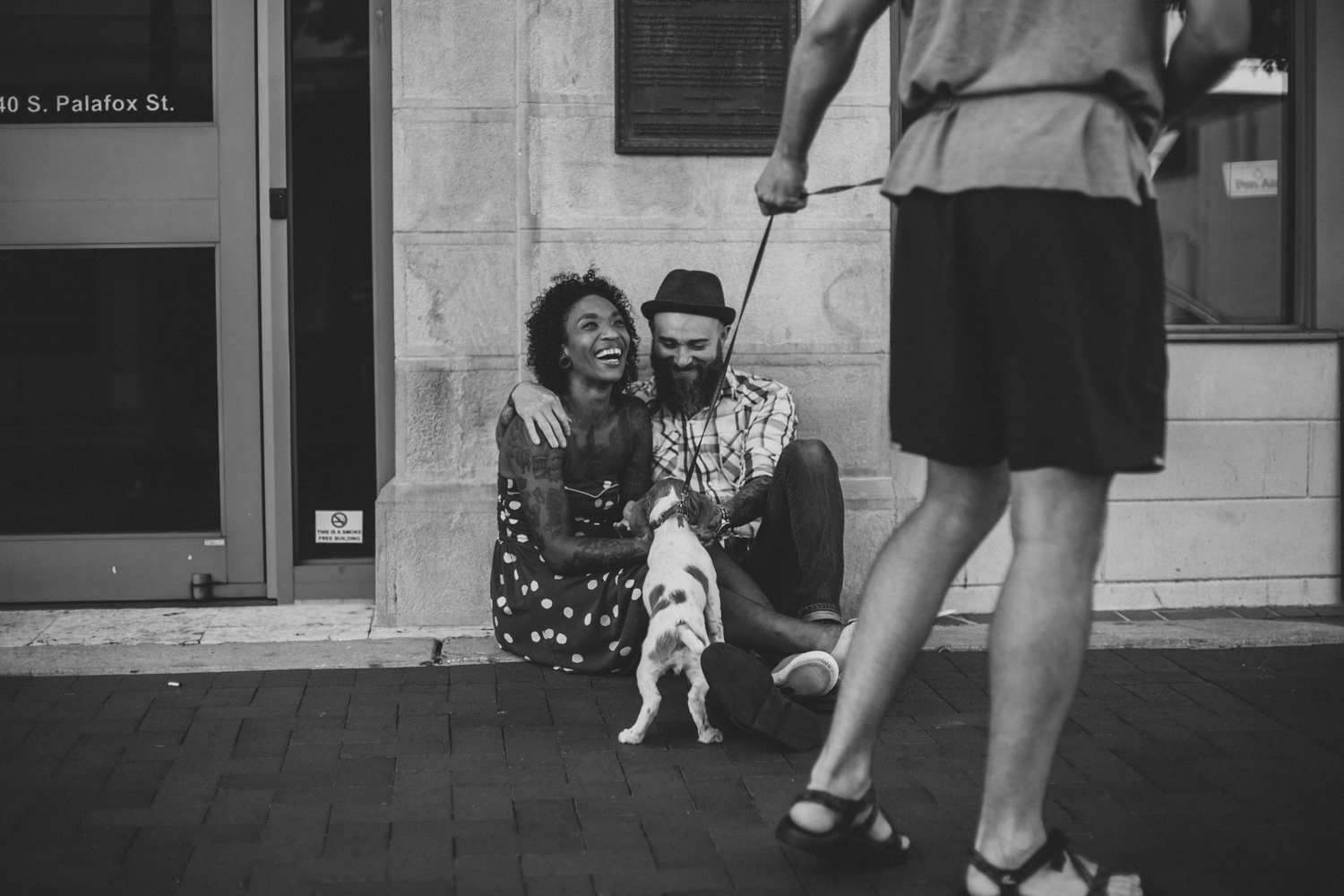 Lo + KC 18 | Downtown Pensacola Engagement Photographers // Love Is Wild Photography
