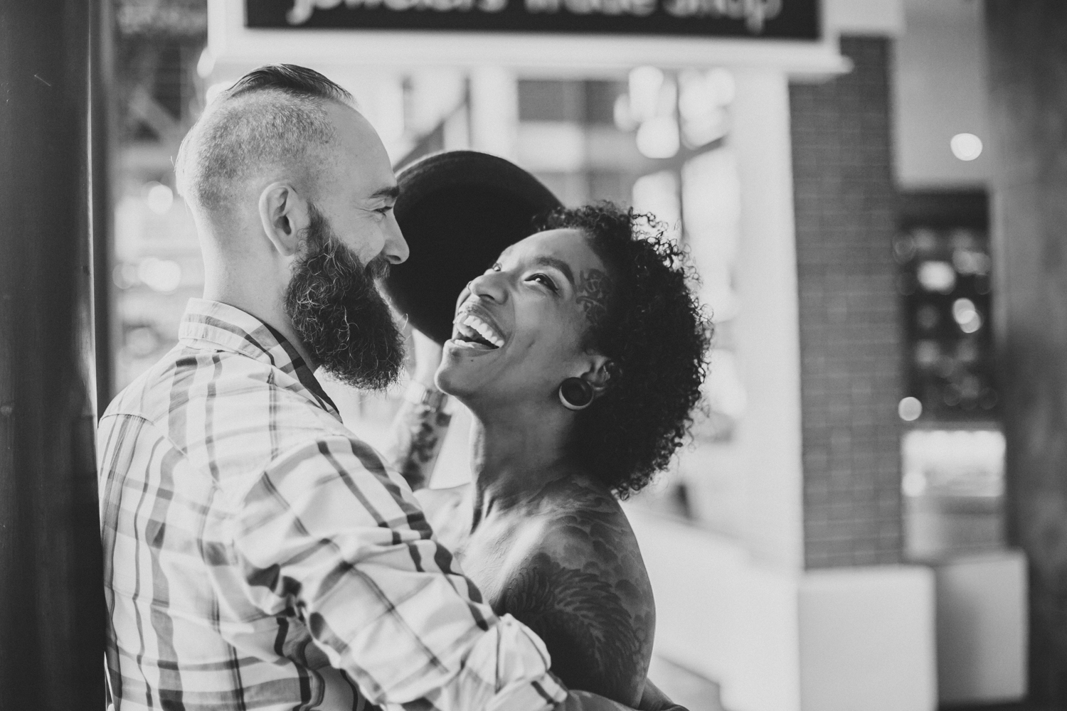 Lo + KC 20 | Downtown Pensacola Engagement Photographers // Love Is Wild Photography