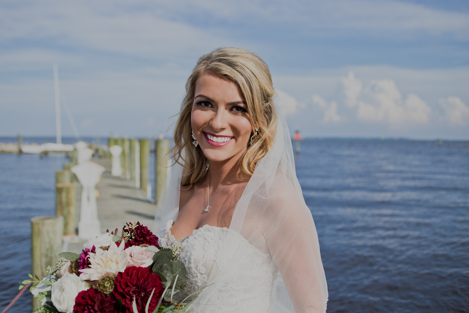 Matt + Nicole\'s Outdoor Wedding | Pensacola Yacht Club | Love is ...