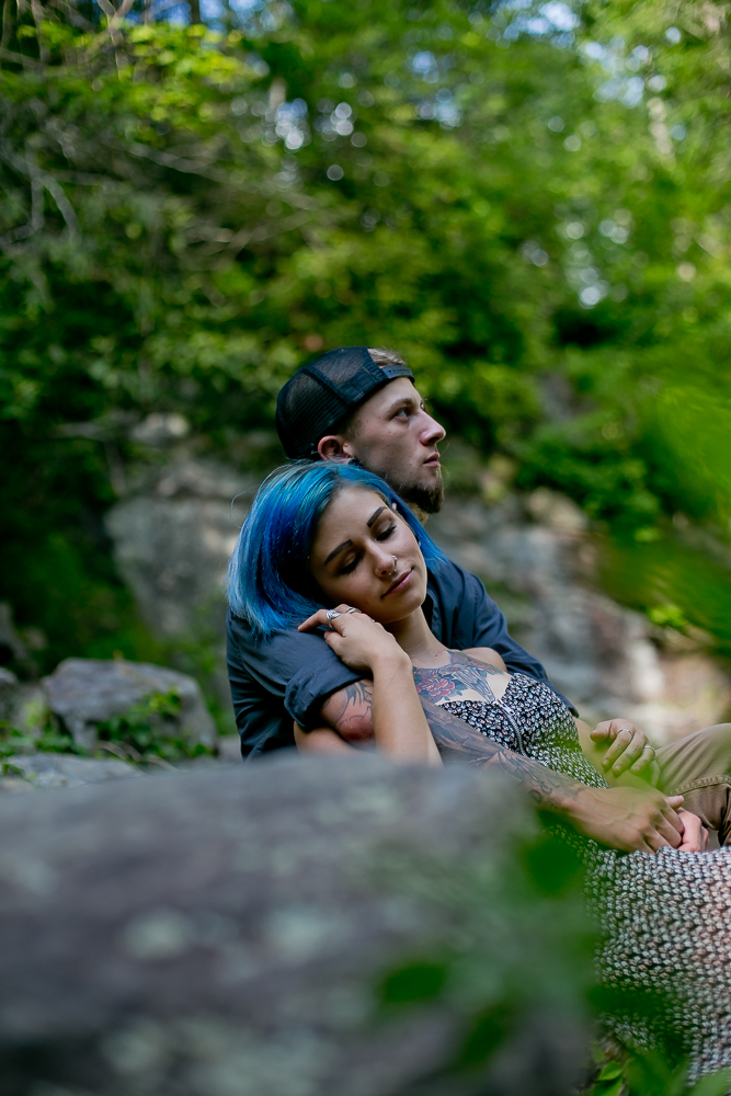 Stephanie + Anthony 28 | Asheville Wedding Photographers // Love Is Wild Photography