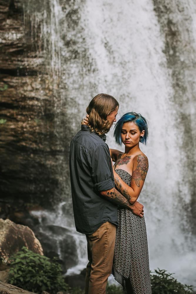 Stephanie + Anthony 7 | Asheville Wedding Photographers // Love Is Wild Photography