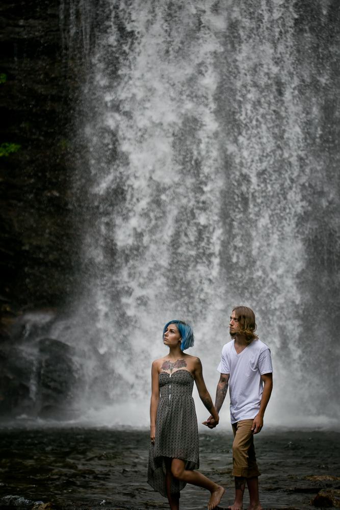 Stephanie + Anthony 20 | Asheville Wedding Photographers // Love Is Wild Photography
