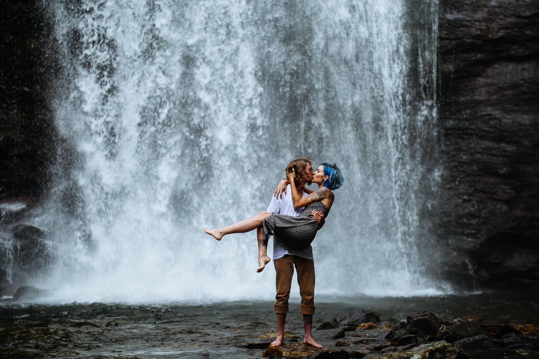 Stephanie + Anthony 19 | Asheville Wedding Photographers // Love Is Wild Photography