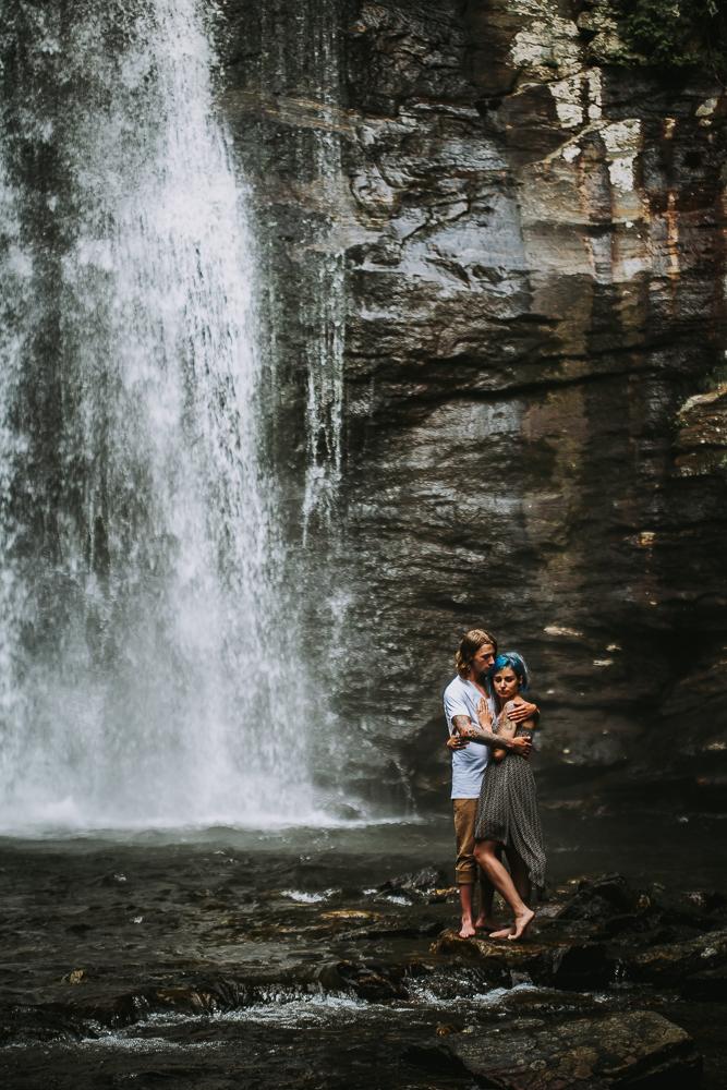 Stephanie + Anthony 12 | Asheville Wedding Photographers // Love Is Wild Photography