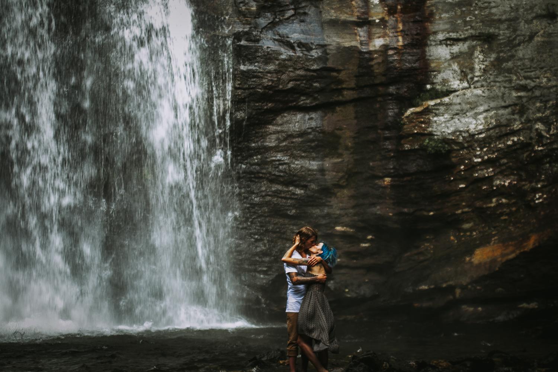 Stephanie + Anthony 16 | Asheville Wedding Photographers // Love Is Wild Photography