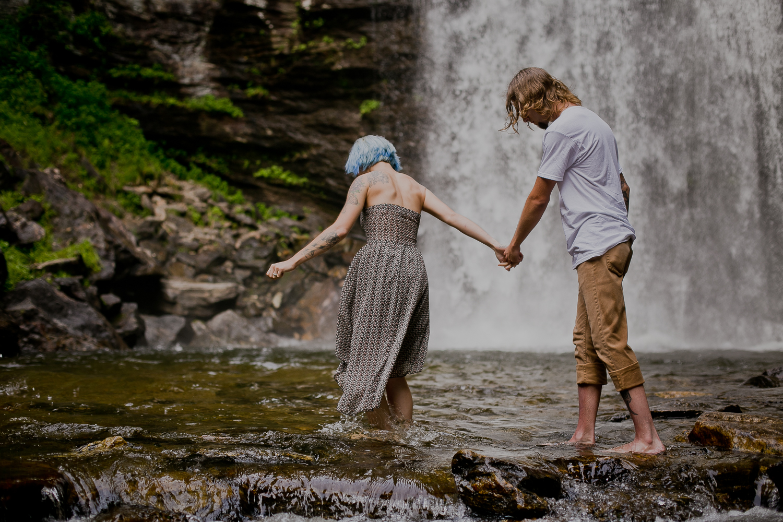 Stephanie + Anthony 9 | Asheville Wedding Photographers // Love Is Wild Photography