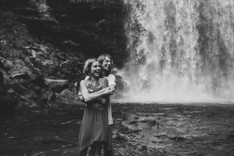 Stephanie + Anthony 13 | Asheville Wedding Photographers // Love Is Wild Photography