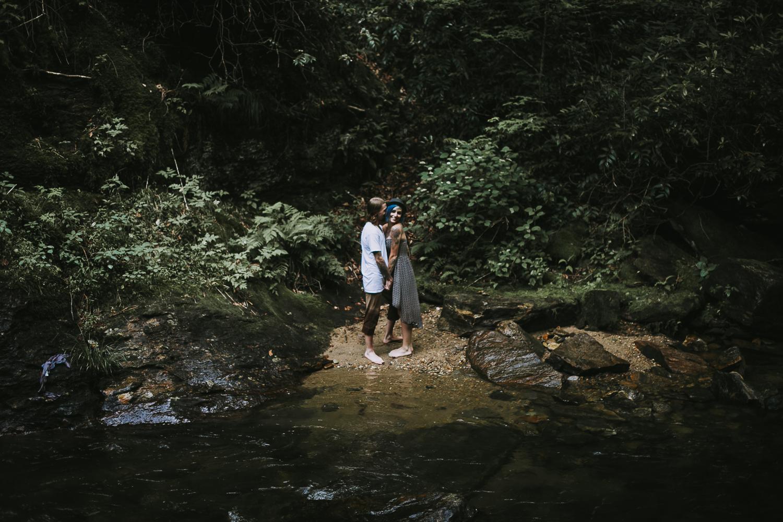 Stephanie + Anthony 34 | Asheville Wedding Photographers // Love Is Wild Photography