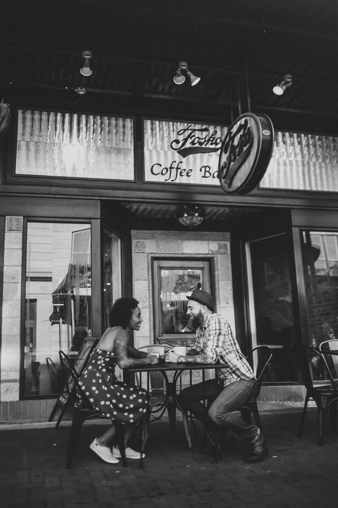 Lo + KC 13 | Downtown Pensacola Engagement Photographers // Love Is Wild Photography