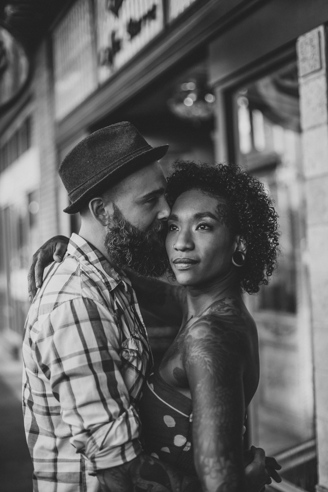 Lo + KC 15 | Downtown Pensacola Engagement Photographers // Love Is Wild Photography