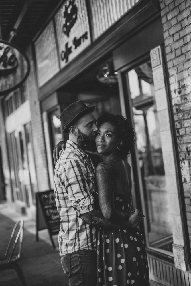 Lo + KC 16 | Downtown Pensacola Engagement Photographers // Love Is Wild Photography