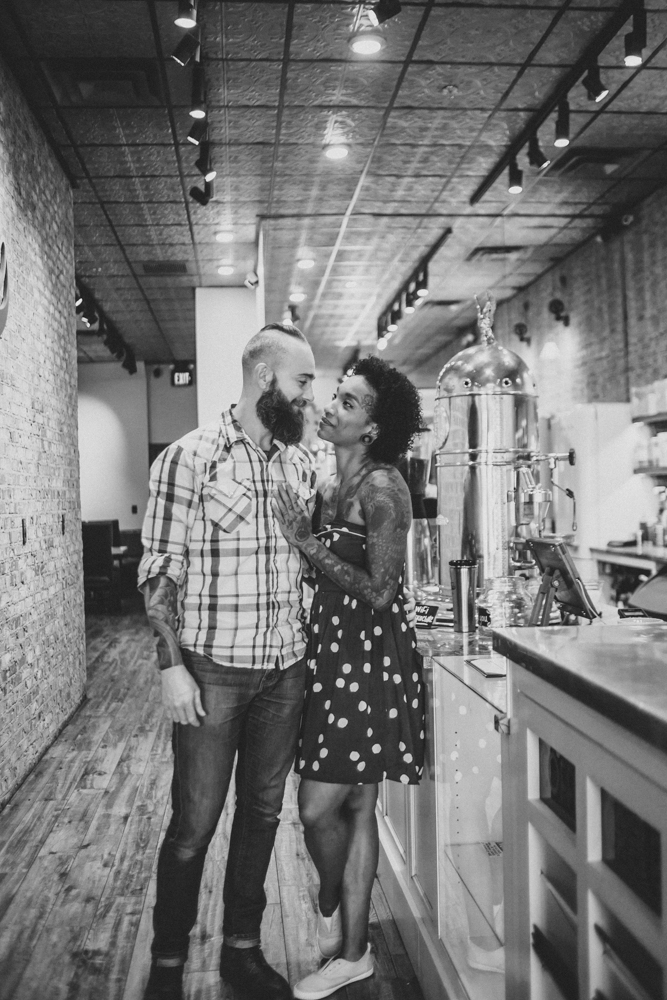 Lo + KC 4 | Downtown Pensacola Engagement Photographers // Love Is Wild Photography