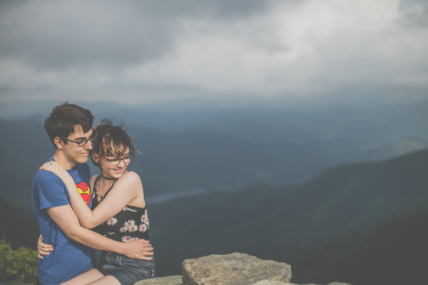 Steven + Samantha 18 | Asheville Couple Photographers // Love Is Wild Photography