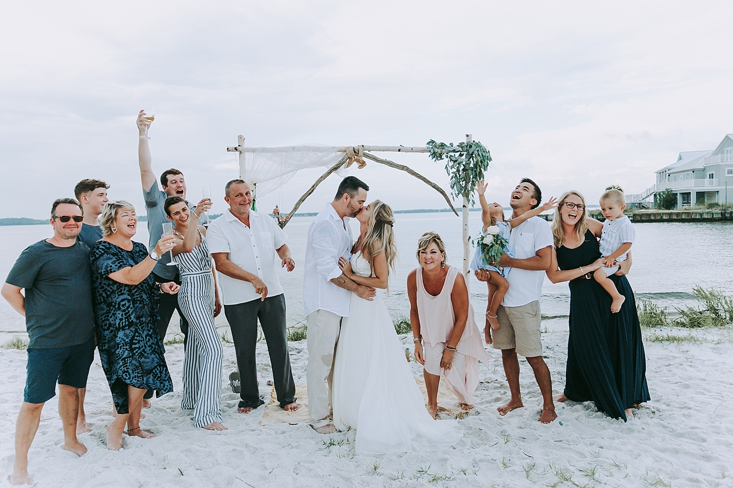 Chad Hannah S Wedding Navarre Beach Fl Love Is Wild